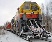 Снегоуборочный поезд СМ 2